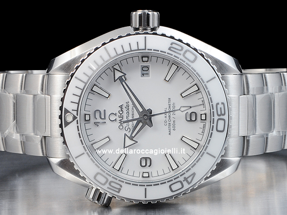 Omega Seamaster Planet Ocean 600M Co-Axial Master Chronometer 21530402004001 Quadrante Bianco